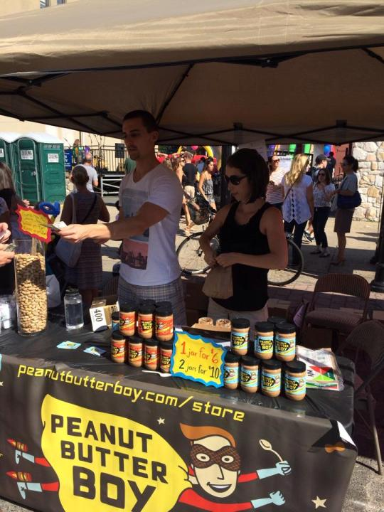 The Peanut Butter Boy Tasty Booth! other