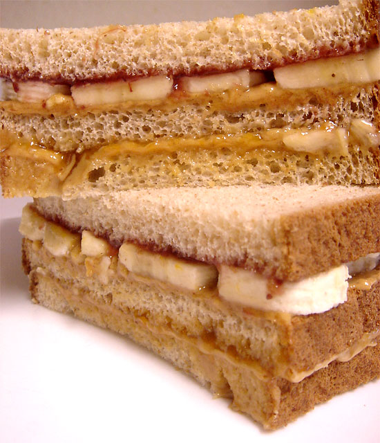 Ultimate Double Decker Peanut Butter Sandwich vegetarian peanut butter main course