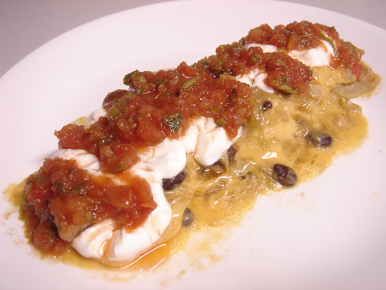 Easy Enchiladas peanut butterless mexican main course gluten free