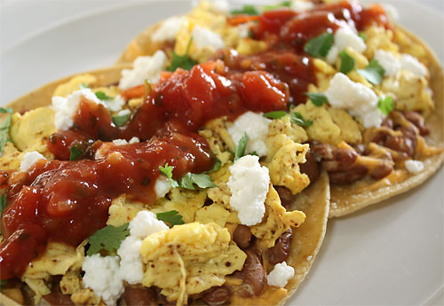 Huevos Rancheros vegetarian peanut butterless mexican gluten free breakfast