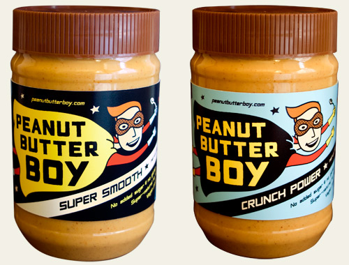 Peanut Butter Boy brand has arrived! peanut butter