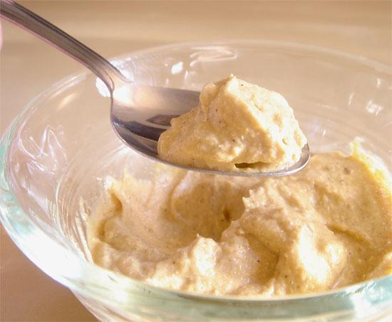 Peanut Butter Pumpkin Mousse vegetarian snack peanut butter low carb gluten free dessert