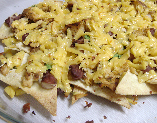 Nachos snack mexican main course gluten free