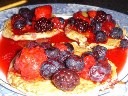 Worlds Healthiest Pancakes vegetarian peanut butter gluten free breakfast