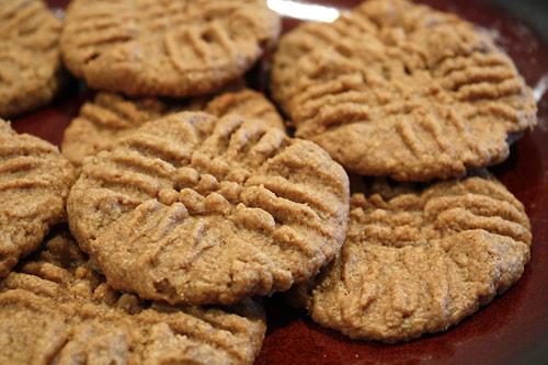 Peanut Butter Oatmeal Cookies vegetarian peanut butter gluten free bakery