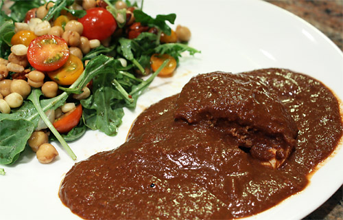 Peanut Butter Cup Chicken Mole peanut butter mexican main course low carb gluten free