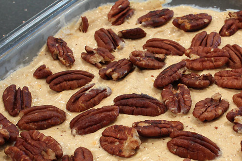 Pecan Pie Pudding vegetarian peanut butter dessert