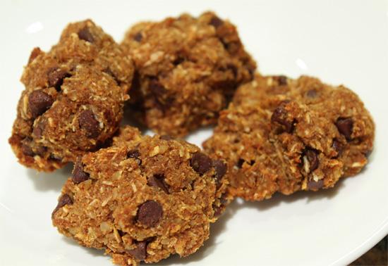 Gluten Free Chocolate Almond Cookies vegetarian snack peanut butter gluten free dessert