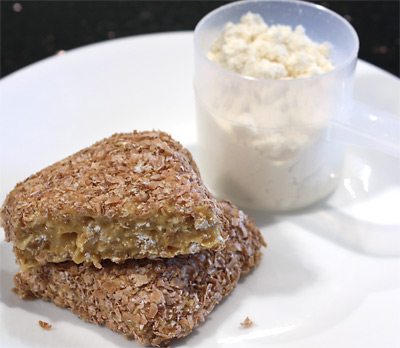 Protein Candy Bars vegetarian snack peanut butter dessert