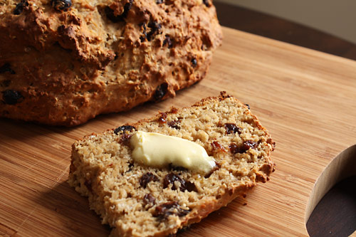 Peanut Butter Irish Soda Bread vegetarian peanut butter breakfast bakery