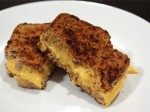 Bacon Crusted Grilled Cheese