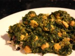 Chicken Chana Saag