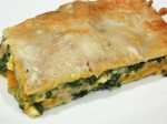 Spinach, Squash and Pine Nut Lasagna