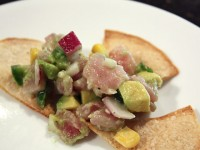Tuna Avocado and Sweet Corn Ceviche