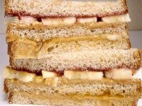 Ultimate Double Decker Peanut Butter Sandwich