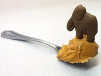 Done in 60 Seconds: Peanut Butter Elephants