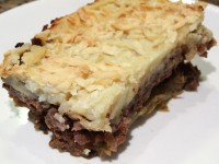 Moussaka Shepherd's Pie