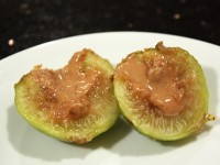 Baked Peanut Butter Figs