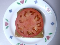 Peanut Butter and Tomato on Toast