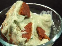 Pistachio Ginger Pudding