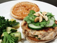 Thai Turkey Burgers and Sweet Chili Salad